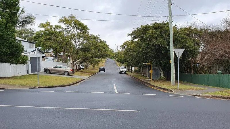 This is what Robinson St, Moorooka usually looks like. Photo Debra Bela